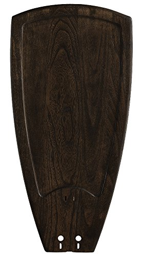 - Fanimation B5214WA 52-Inch Sweep Single Side Carved Wood Blades for Islander, Set of 5