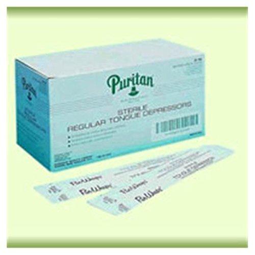 WP000-PT -25-705 25-705 Depressor Tongue Birchwood Adult 11/16x6'' Sterile 100/Bx Puritan Medical Products