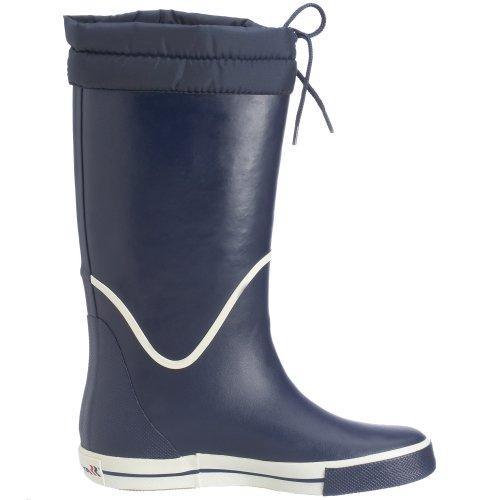 Romika Jeanie-Boot Unisex-Erwachsene Halbschaft Gummistiefel Blau (marine-weiss 525)