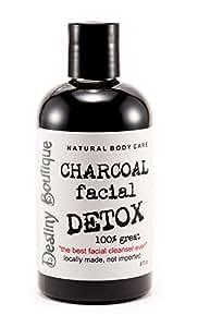 Destiny Boutique Charcoal Facial Detox