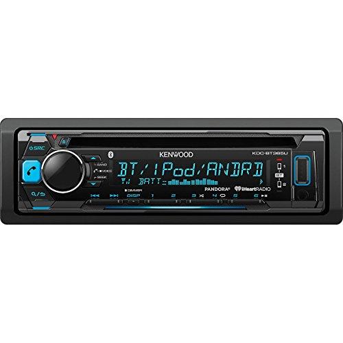 Kenwood KDC-BT365U CD Single Din In-Dash Bluetooth Car Stereo Receiver