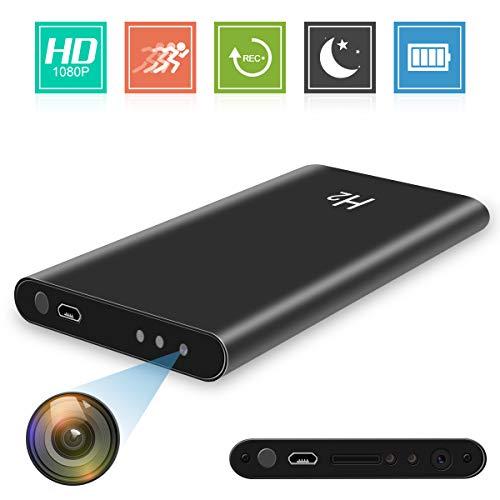 Spy Hidden Camera HD 1080P 5000mAh Power Bank Camera- Mini Security black