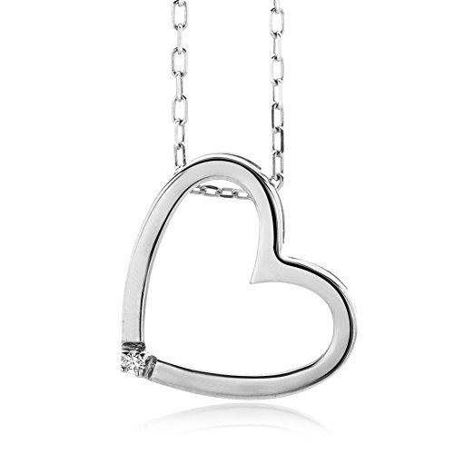 Miore-Colgante-de-mujer-con-plata-de-ley-9251000-diamante-redondo-45-cm