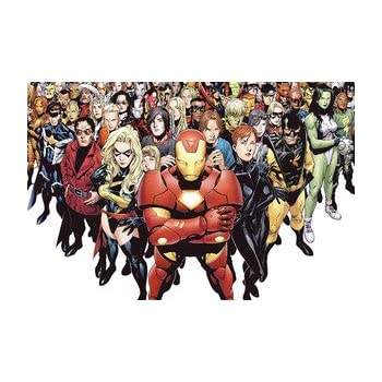 Marvel Superheroes CANVAS OR PRINT WALL ART