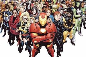 Marvel Superheroes CANVAS OR PRINT WALL ART