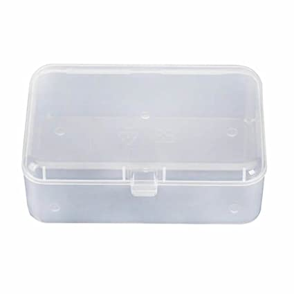 Amazon.com: ISKYBOB - Caja de almacenamiento de plástico ...