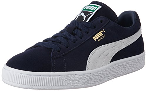 Bleu white Puma Classic Mode Suede peacoat Adulte Mixte 51 Baskets PqCgZ6P