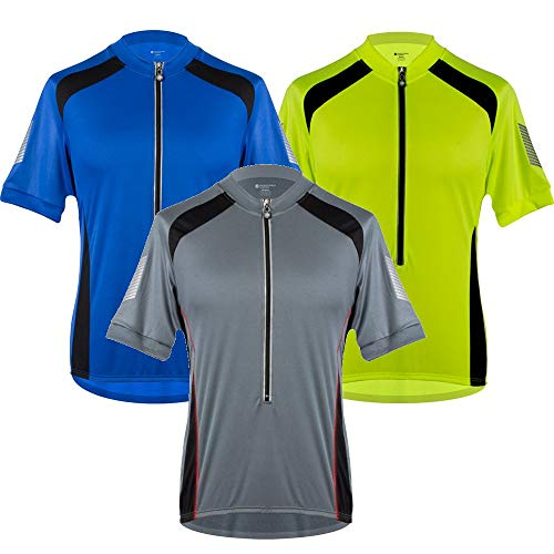 AERO TECH DESIGNS Tall Mens Elite Coolmax Cycling Jersey - Made in the USA