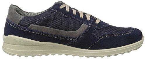 Jomos Elan - Zapatillas de casa Hombre Mehrfarbig (Navy/Plume)