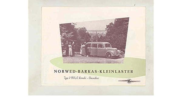 Amazon Com 1950 Barkas V901 2 Kombi Microbus Van Truck