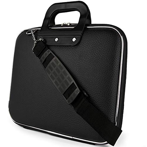 15.6 Inch Shock Resistant Laptop Bag Briefcase Fit HP, Huawei, Lenovo, MSI, Black (Hp Laptop Core I3 Price In Philippines)