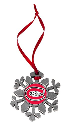 LinksWalker NCAA Saint Cloud State Huskies - Snow Flake Ornament