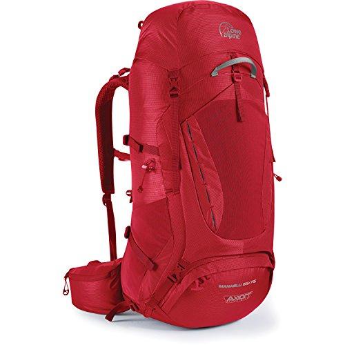 Lowe Alpine Manaslu 65:75 Backpack - 3965cu in Oxide, (Lowe Alpine Waist Belt)