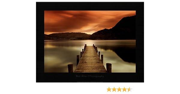 Amazon.com: Ullswater, Glenridding, Cumbria Art Print Art Poster ...