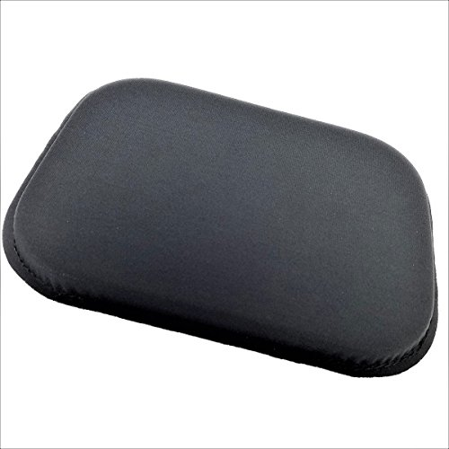 Scuff Base End (ULTRAGEL® ANYWHERE, ANYTIME Arm/ Elbow/ Wrist Rest Gel Pads (5.5x7.5 , Black/Non-Slip ))