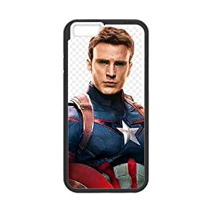 Captain America Iphone6 4.7 inch Phone Case Black white Gift Holiday Gifts Souvenir Halloween Gift Christmas Gifts TIGER157098