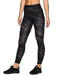RBX Active Women's Striated Layered Print Capri Legging