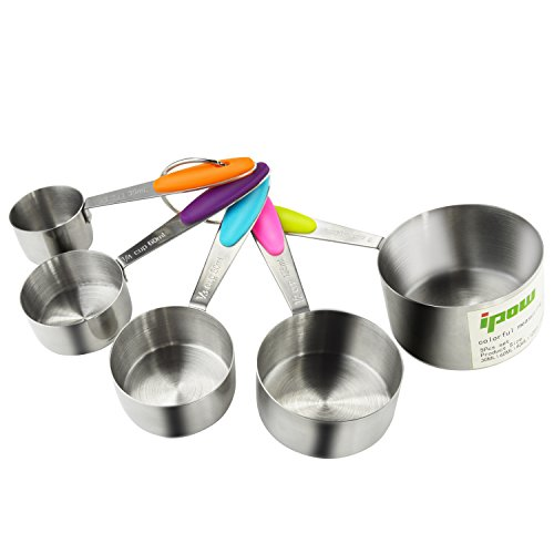 Thicker Stainless Stackable Measuring Ingredients
