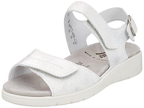 Semler Ladies Dunja Sandali Con Cinturino Bianco (bianco)