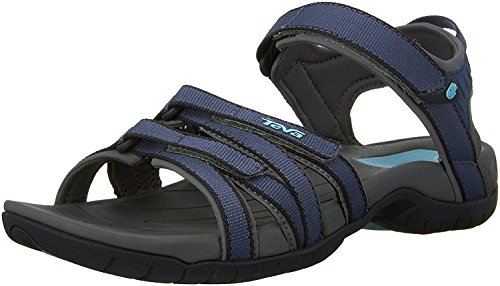 Teva Womens Tirra Athletic Sandal, Bering Sea, 37.5 B(M) EU/4.5 B(M) UK