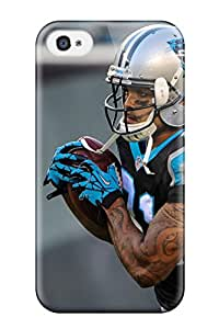 Cute High Quality Iphone 4/4s Carolina Panthers Case