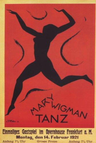 Amazon.com: Teatro Girl Dance María wigman Tanz Frankfurt ...
