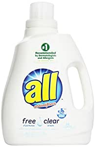 Amazon Com All Liquid Laundry Detergent Free Clear For