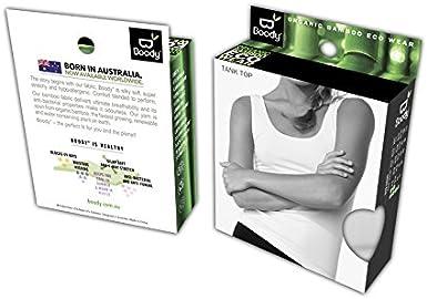 Boody Body EcoWear Damen Tanktop aus Bambusviskose langes sportliches K/ühlendes Tanktop
