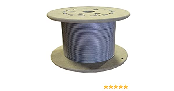 Loos Galvanized Steel Wire Rope, Nylon Coated, Military ...