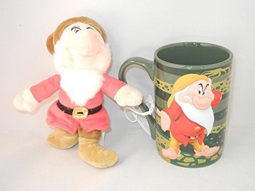 Disney Grumpy From Snow White Mug with Plush