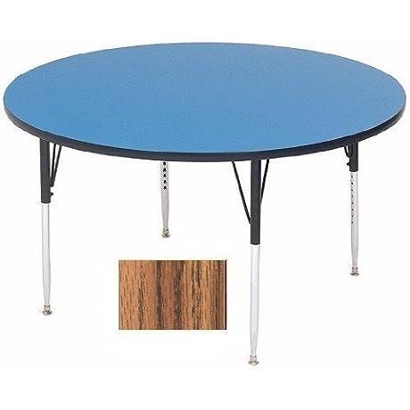 Correll A60 RND 06 Round Medium Oak Top Activity Table