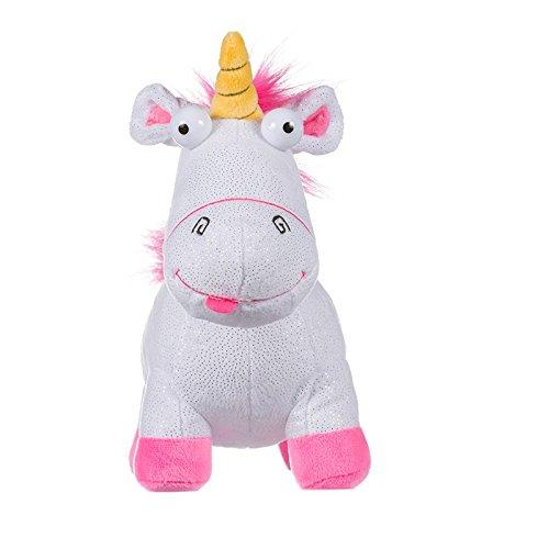 Posh Paws 9342 Despicable Me 3 Glitter Fluffy the Unicorn Soft Toy Plush