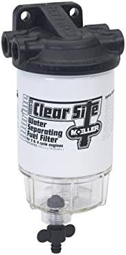 Moeller Clear Site Water Separating Fuel Filter System, 3/8-Inch