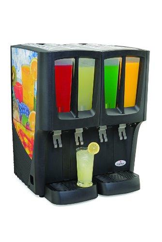 Grindmaster Cecilware C 4D 16 Mini Quattro Carthco G Cool Innovative Premix Cold Beverage Dispenser  Black