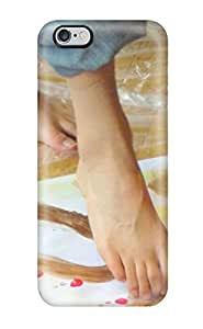 For Iphone 6 Plus Tpu Phone Case Cover(jane Foot Painting Artist )