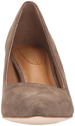 Como Pump Taupe Dress Suede Regina Women's Corso AHzqdTT