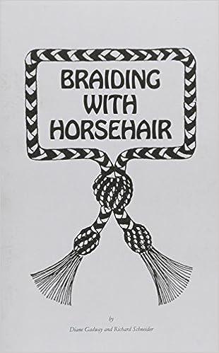 Braiding With Horse Hair Diane Gadway Richard Schneider