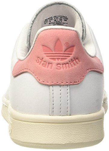Chaussures Adidas Unisexe Adulte Basket Stan Smith Bianco (ftwwht / Ftwwht Raypnk)