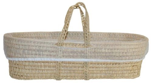 Tadpoles All Natural Organic Storage Moses Basket with Laundry - Moses Partners Sleeping Basket