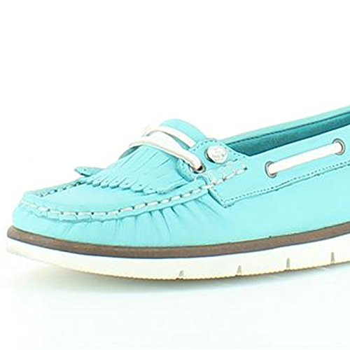 Heavenly Turquoise Donna Shoes Cherry Mocassini Feet 6Hr4wqYH