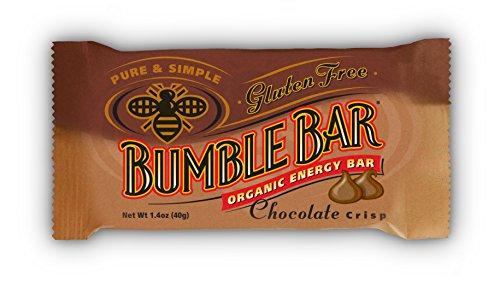 (BumbleBar Gluten Free Organic Energy Chocolate Crisp, 1.4-Ounce Bars, 12-Count Box )