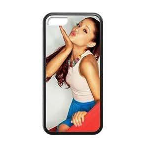 New Fashion Case CASECOCO Ariana Grande Series Black case cover&Cover for iPhone w2xxXTvSlKp 4s