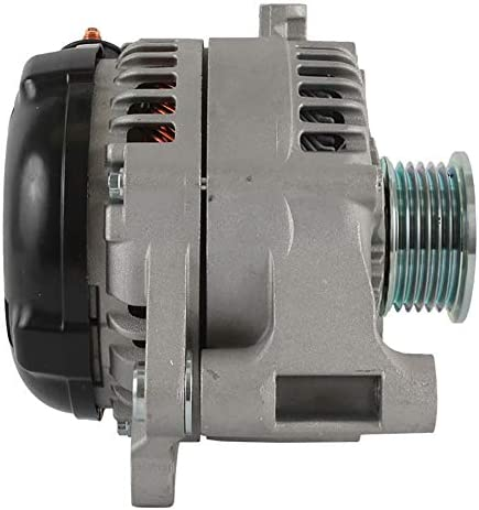 New DB Electrical AND0582 Alternator for 10 Clock 160 amp External Fan Type Solid Pulley Type Internal Regulator CCW Rotation 12V Jeep Wrangler 2012 2013 2014 2015 2016 2017 68078950AA 68078950AB