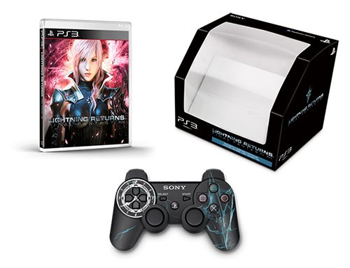Lightning Returns: Final Fantasy XIII & Limited DualShock 3 Controller (Japanese Voice / Traditional Chinese, Korean Language) [Region Free] for Playstation 3 PS3