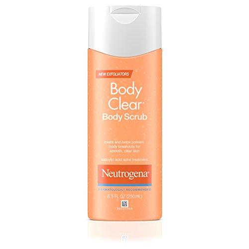 Neutrogena Body Clear Body Scrub, 8.5 Fluid Ounce (Pack of 6)