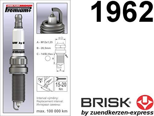 Brisk Iridium Premium+ Plus P36 2MR14LIR 1962 - Bujías (4 Unidades): Amazon.es: Coche y moto