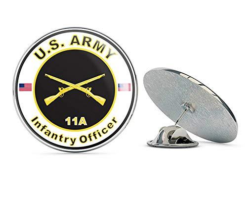 - Veteran Pins U.S. Army MOS 11A Infantry Officer Metal 0.75