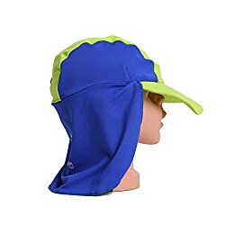 UTTER Beach Baby Sun Hat Cap, Baby Swimming Protection, UPF 50+, Pink/Purple