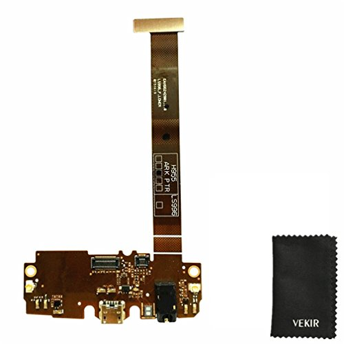 USB Charger Port Replacment Flex Cable Compatible With LG G Flex 2 F510 H950 H955 LS996 LG_F510 VEKIR Rtail Packaging