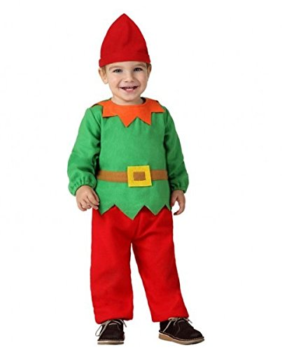 Atosa-32204 Atosa-32204-Disfraz Duende niño bebé-Talla ...